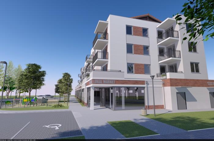 Zagospodarowanie przestrzeni wokół budynku